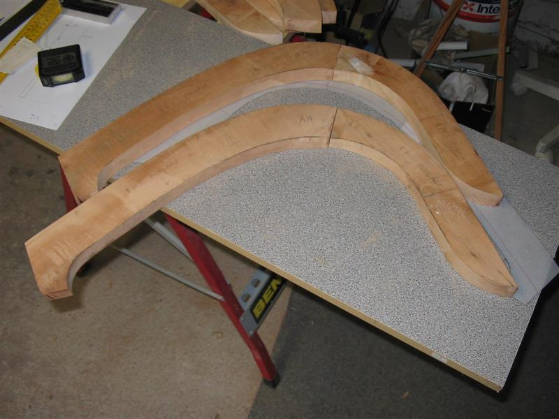 Cerisier Bois Dur : Nico44 CONCEPTION construction canoe bois latt? epoxy informatique